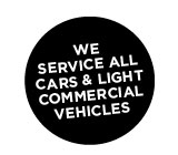 We service all cars & light commercial vehicles